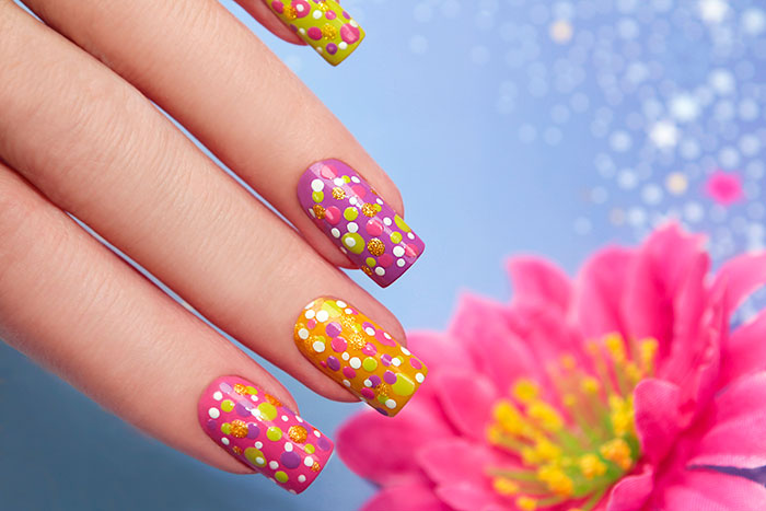 Dotted-Nail-Art