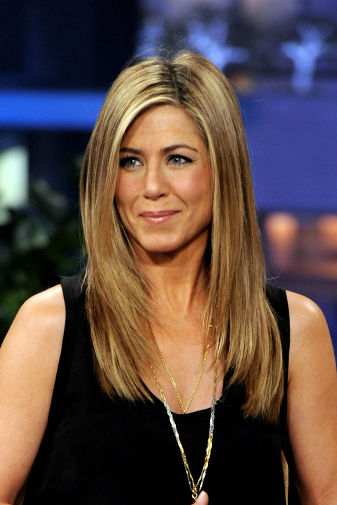 BURBANK, CA - FEBRUARY 24: Actress Jennifer Aniston appears on the Tonight Show With Jay Leno at NBC Studios on February 24, 2012 in Burbank, California. (Photo by Kevin Winter/NBCUniversal/Getty Images)